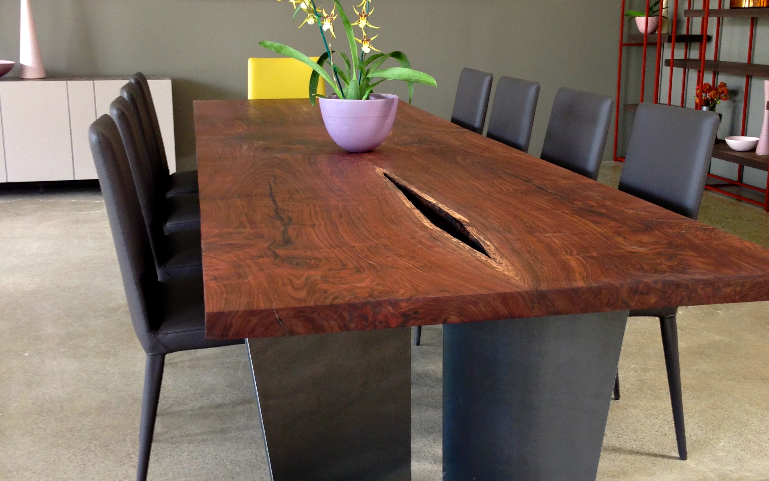 Original Timber Co. dining room table